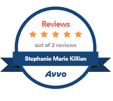 5-Star Avvo Rating - Stephanie Marie Killian
