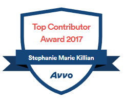 Avvo Top Contributor 2017 - Stephanie Marie Killian